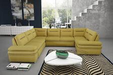 Ecksofa mit Schlaffunktion Schlafsofa Eckcouch Couch Groß Sofa Luxor Pano  01