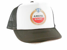 Amstel light beer Trucker Hat mesh hat snapback hat brown