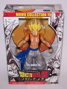 "Dragonball Z SS Gogeta 10"" Action Figure Movie Collection 15 Jakks Pacific 2005"