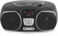 AKAI Portable CD AM / FM Radio Stereo Quality Sound Boombox CD-R CD-RW Player