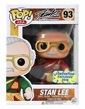 Funko Pop! Asia Stan Lee Guan Yu (RED) #93 2016 Summer Convention Exclusive RARE
