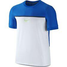 Nike Rafael Nadal ATP Master Challenger Premier RAFA Swoosh Tennis Crew Shirt L