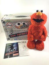 Fisher Price Sesame Street TMX Tickle Me Elmo 10th Anniversary In Box Original