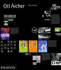 Otl Aicher von Markus Rathgeb LANGE VERGRIFFEN Design / Grafik / Olympia / HfG