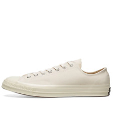 Converse Mens Unisex Chuck Taylor All Star 70 OX Cream Trainers Shoes UK 11
