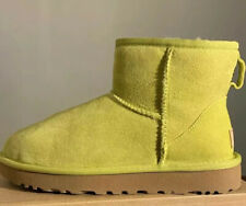 UGG CLASSIC MINI II Electric Lime) 1016222 WOMAN BOOT SZ 5, AUTHENTIC (EXCLUSIVE