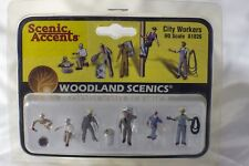 City Workers Woodland Scenics A1826 HO Scale Figures