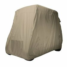 Classic Accessories Fairway Golf Cart Quick Fit Cover with Elastic Bottom Hem