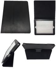 IPAD  2 3  4 Ledertasche Case Etui Schutzhülle Tasche schwarz Kunstleder