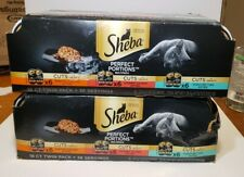 New listing Sheba perfect portions cuts 36 twin packs for 72 servings 3 flavors exp 5/21