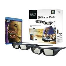 Sony 3D Bundle: Two Pairs of Sony Active 3D Glasses and Narnia 3D Blu-Ray Disc