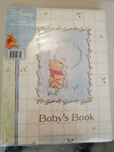 Disney Sincerely Pooh Baby Memory Book ***LIMITED/RARE***