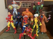 Marvel Legends Lot Red Skull Ultron Rogue Gambit Iron Man Thing Cyborg Spidey +