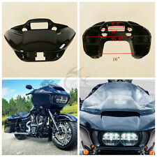 ABS Vivid Black Inner Outer Headlight Fairing For Harley Road Glide FLTRX 15-17