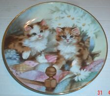 Franklin Mint Collectors Plate KITTEN COUNTRY Kitten Cat