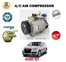 Pour Audi Q7 3.0 Tdi 7L6820803T 2006-2010 Neuf Climatisation Compresseur Unité