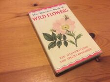 THE OBSERVERS BOOK OF WILDFLOWERS NICE HARDBACK WITH DUST JACKET VINTAGE
