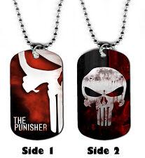 DOG TAG NECKLACE - The Punisher 2 Superhero