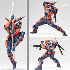 "DC Comics Deathstroke 7"" Model Yamaguchi Revoltech Series Action PVC Figure Toy"