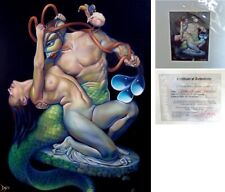 PATRICK PIERSON Limited Edition Print Pygmalion GREEK SEA MYTHOLOGY merman ocean