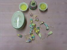 Easter Lot Precious Moments Tiny Figurines  Candles 24 Pieces