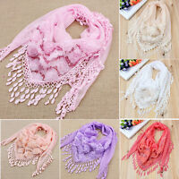 Embroidered Scarf Trigonometric Cape Scarves Shawl Bib Tassel Silk Scarf &fj