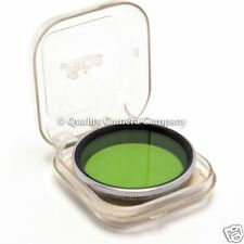 Leica Summitar Green Filter GCYOO -BLACK & WHITE CONTRAST CONTROL - EXCELLENT