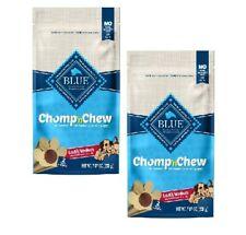 Blue Buffalo 2-Packs Chomp 'n Chew Small/Medium Dog Treats BB 11/2020