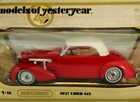 Matchbox Models Of Yesteryear Y18 1937 Cord 1978 Lesney