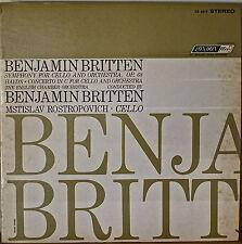 BRITTEN (& COND.): Symphony for Cello and Orchestra-M1964LP ROSTROPOVICH + Haydn
