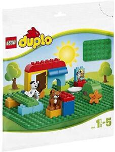 LEGO 2304 DUPLO Classic Große Bauplatte Spielzeug Vorschulkinder Grün 38 x 38 cm