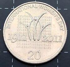 2011 20 Cent Twenty Cent International Women/'s Day EX Mint Roll UNC
