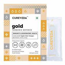 Cureveda Gold - Turmeric (curcumin) Defence for Immunity, Lung Health- 30 Sacht.