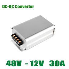 GOLF CART DC CONVERTER 30 AMP 48V 48 VOLT STEP-DOWN VOLTAGE REDUCER TO 12V 30A