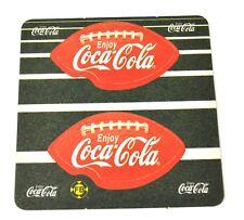 COCA-cola coke Birra Coperchio SOTTOBICCHIERI COASTER USA American Football motivo