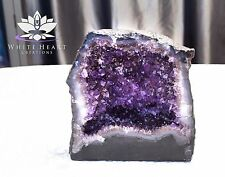 """8.75"""" Amethyst Crystal Geode Cluster Cathedral - 11.6 Pounds - FREE SHIPPING"""