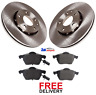 FOR AUDI A4 B7 2.0 TDI S LINE 2004-2008 FRONT BRAKE DISCS & PADS SET NEW