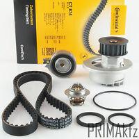 CONTI CT874 Zahnriemen + Spannrolle Wasserpumpe + Meyle Thermostat Opel 1.4 1.6