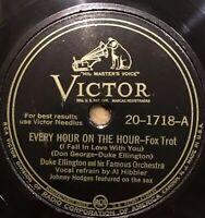 "1945 Jazz DUKE ELLINGTON ""EVERY HOUR ON THE HOUR"" 78 rpm VICTOR 20-1644 NM"