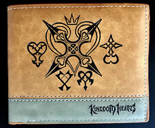 Kingdom Hearts Wallet Purse Mens Kids Faux Leather Gaming Sora PS4 Xbox Wii *OZ*