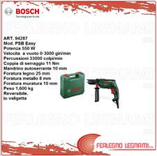 BOSCH-V TRAPANO ELETTRICO PSB EASY  550W ART. 94287