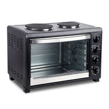 Convection Electric,45l Oven With Large Bake Benchtop, Hot Plate, Rotisserie