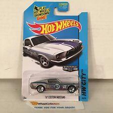 '67 Custom Mustang #98 * Zamac * 2014 Hot Wheels * A16