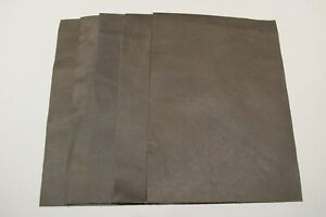 """5  pieces of Antique Green real leather 21cm x 15cm 100% genuine 8"""" X 6"""" crafts"""