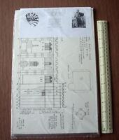 1992 Hitchin (Hurts) Parish Church Card Cut-Out Model Kit 1200 Year Anv Souvenir