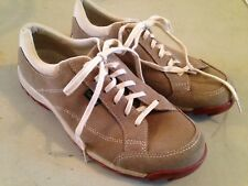 Simple Shoes Shoes 9.5  Tennis Leather Suede Lace Up Comfort Walking   2E
