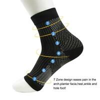 Compression Socks Anti Fatigue Copper Miracle New Foot Unisex Angel Ankle Sleeve