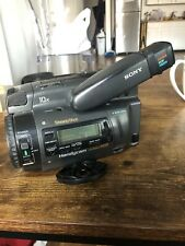 Sony Ccd-Tr700 8mm, Hi-8 Analog Camcorder with L case, charger, 2 batteries