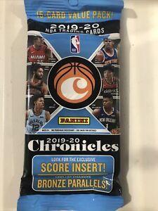 2019-20 Panini Chronicles Fat Pack NBA Basketball chase ZION JA RJ