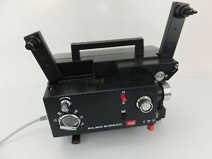 Vintage ELMO K-100 SM Super8 8mm Silent Movie Film Projector